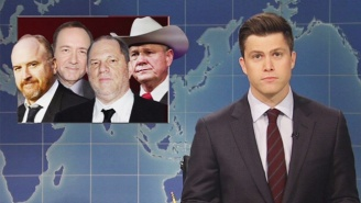 'Weekend Update' Quickly Addresses Louis C.K. During A Fiery Segment On Sexual Assault
