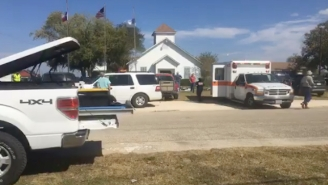 'At Least' 25 People Have Been Killed In A Mass Shooting At A Texas Baptist Church