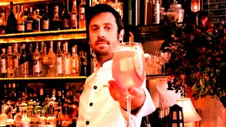 A Superstar Bartender Shows Us How To Make 'The Sophia'