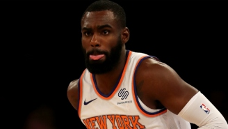 Tim Hardaway Jr. Chose Trolling A Ref Who Fell Down Over Playing Defense Against The Raptors