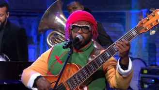 Jazz Virtuoso Thundercat Wore A 'Dragon Ball Z' Costume To Perform On 'Colbert'