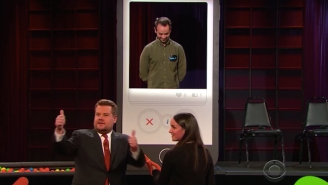 James Corden Plays Cupid Guiding A 'Late Late Show' Staffer's Live Tinder Journey