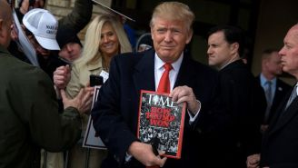 Time Magazine Refutes Donald Trump's Claim That They Wanted To Name Him 'Person Of The Year'