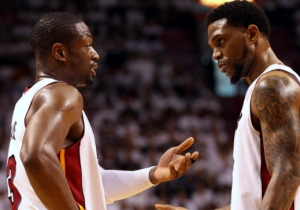 Dwyane Wade And Udonis Haslem Swapped Jerseys After Cleveland Took Down Miami