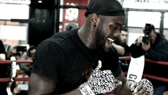 Heavyweight Champ Deontay Wilder Has 'Unfinished Business' With Bermane Stiverne