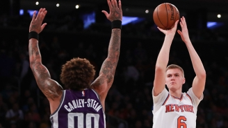 Willie Cauley-Stein Says He's At The Same Skill Level As Kristaps Porzingis