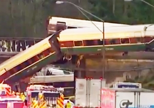The Amtrak Train Derailment In Washington Has Killed Multiple People And Injured Over 75 More