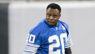 Barry Sanders Tells Us Why He Finds It 'Awkward' Comparing Himself To Current Running Backs