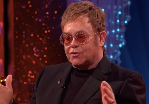 Elton John Recalls A Very Thoughtful Wedding Present He Received From Eminem On 'Norton'