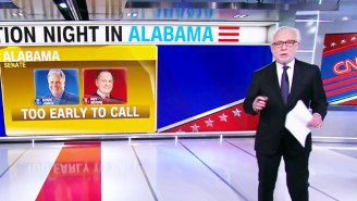 People Are Roasting Wolf Blitzer's 'Too Early To Call' Chant While Waiting For Alabama Senate Election Results