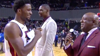 Chris Bosh Reminded Everyone Of His Videobombing Skills During This Justise Winslow Interview