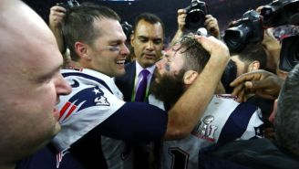 Julian Edelman Wrote A Children's Book Featuring 'Tom The Goat'