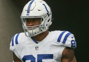 Colts Tight End Brandon Williams Was Carted Off The Field During Thursday Night Football