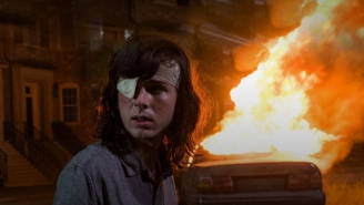 Chandler Riggs Is Happy With His Explosive-Riddled End On 'The Walking Dead'