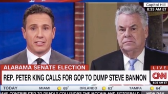Rep. Peter King Tells CNN's Chris Cuomo That Steve Bannon Looks Like A 'Disheveled Drunk'
