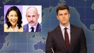 'SNL' Covers Matt Lauer On 'Weekend Update' With A Sly Ann Curry Reference