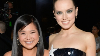 Kelly Marie Tran's Emotional Moment With Daisy Ridley Was The Highlight Of The 'Star Wars: The Last Jedi' Premiere