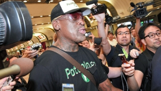 Dennis Rodman Once Again Tried Unsuccessfully To Clarify His Friendship With Kim Jong-un