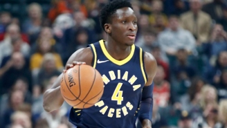Victor Oladipo Banked In A Game-Winner Against The Bulls