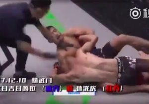 An MMA Fighter Won A Fight With A Shoot Dragon Sleeper