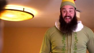 Braun Strowman Is An 'Elf' Among Men In A New WWE Christmas Parody Video