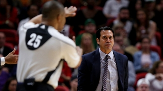 Erik Spoelstra Says NBA Officiating Is Changing For The Better Despite Recent Controversies