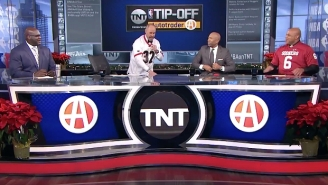 Charles Barkley Tried To Troll Ernie Johnson By Wearing An Oklahoma Jersey