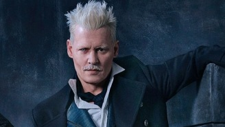 'Harry Potter' Author J.K. Rowling Defends Johnny Depp's Casting In 'Fantastic Beasts'
