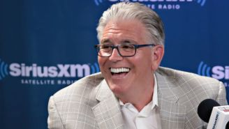 Mike Francesa Thought The Photoshop Of Todd Gurley Swapping Jerseys With A Ref Was Real