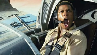 John Boyega Is Stunned When This Interviewer Drops A 'Star Wars: The Last Jedi' Spoiler On The Air