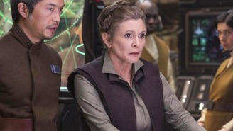 Carrie Fisher Received A Touching Honor Ahead Of The Opening Of 'Star Wars: The Last Jedi'