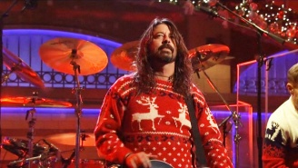 Foo Fighters Closed Out Their 'SNL' Appearance With An Epic Christmas Version Of 'Everlong'