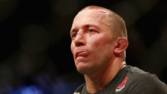 Georges St-Pierre Announces He's Vacating His Newly Won UFC Middleweight Title
