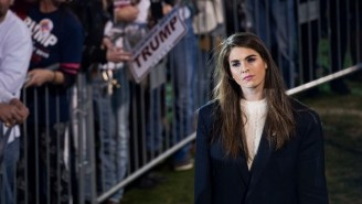 The FBI Reportedly Cautioned Hope Hicks About Russian Operatives Sending Her Emails After Trump's Victory