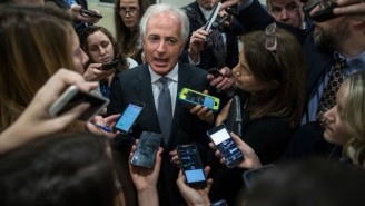 Sen. Bob Corker Further Denies Adding A 'Single Word' To The Tax Bill As The Vote Heats Up