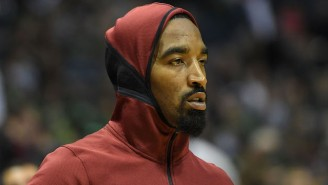 J.R. Smith Is Launching A Line Of 'Merry Swishmas' Ugly Christmas Hoodies