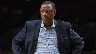 Alvin Gentry Stormed Out Of His Post-Game Interview After The Pelicans Blew A Late Lead To The Kings
