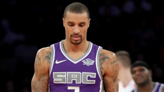 If George Hill Joined The Kings With A Promise They'd Compete, Something's Seriously Wrong