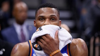 Russell Westbrook Made Michael Kidd-Gilchrist Look Silly By Dunking On His Head