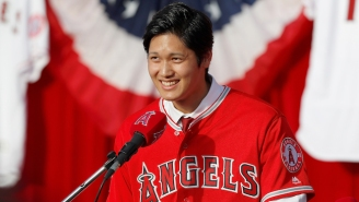 Angels Star Signee Shohei Ohtani Is Reportedly Dealing With An Elbow Injury