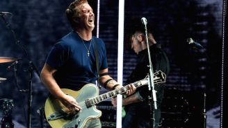 Josh Homme Kicked A Photographer In The Head At KROQ Almost Acoustic Christmas