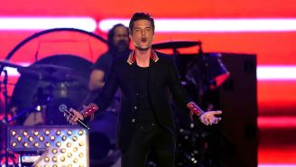 The Killers Heroically Covered Morrissey After He Canceled His Set At KROQ Almost Acoustic Christmas