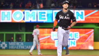 Giancarlo Stanton Is Now Officially A Member Of The New York Yankees
