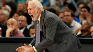 Gregg Popovich Is Resting LaMarcus Aldridge Against OKC Because Of The Spurs' 'Ridiculous' Schedule