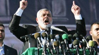 The Leader Of Hamas Calls Trump's Jerusalem Choice A 'War Declaration' And Demands A Palestinian Uprising