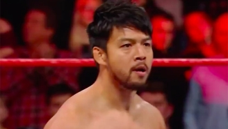 Hideo Itami Made His WWE Debut A Day Early