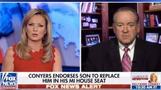 Mike Huckabee Asks If Al Franken, Conyers, Can Stay In Office, Why Not Elect Roy Moore?