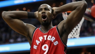 Dikembe Mutombo Approved Of Serge Ibaka Doing The Finger Wag After Blocking A Shot