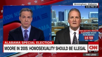 Roy Moore 'Probably' Believes Homosexual Conduct Should Be Illegal, According To His Awkward Spokesperson