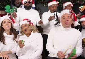 Anna Kendrick And Jimmy Fallon Join Darlene Love For A Cover Of 'Christmas (Baby Please Come Home)' On Kid Instruments